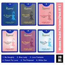 Buy KAZIMA Pocket <b>Perfume</b> For Women, 20ML Each (Be <b>Naughty</b> ...