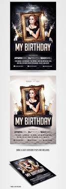 birthday party invitation flyer template com birthday party invitation flyer template