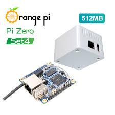 <b>Orange Pi</b> Zero 512MB+<b>Protective White</b> Case,Mini Single Board Set