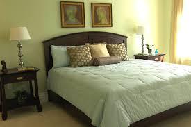 contemporary master bedroom decor green wall