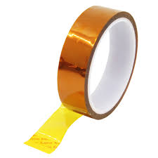 5/15/15mm X <b>33m 100ft Kapton</b> Tape <b>Adhesive</b> Tape Gold High ...