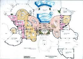 Luxury Home Plans European French Castles  villa  and mansion houses Ultra Contemporary Plan Sample at   SF