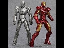 ngobar review revoltech ironman mark 2 mark 3 bootleg ver bootleg iron man 2 starring