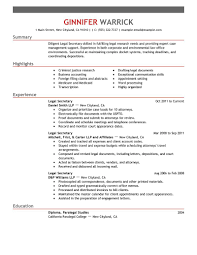 legal secretary resume examples contributed of production legal secretary resume
