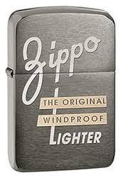 <b>Зажигалка бензиновая</b> Original (серая, матовая) от Zippo купить ...