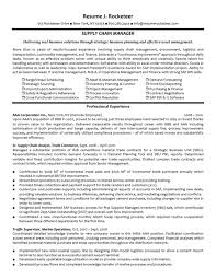 cover letter supply chain management resume samples template experienced supply managerresume format for supply chain management management resume format