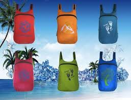 <b>Folding Multifunctional Nylon</b> Gym Travel Backpack Super Light and ...