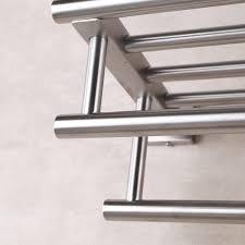 towel rack bathroom shelf stainless steel chrome