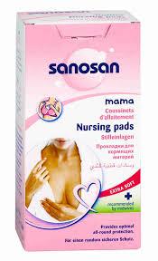 <b>Прокладки</b> д/<b>кормящих</b> матерей <b>Sanosan</b> 30шт - купить с ...