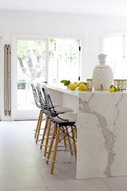 calacatta marble kitchen waterfall: calcutta marblecome see the real thing in our showroom