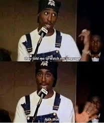 The kings speaking tho | Tupac memes | Pinterest via Relatably.com