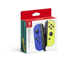 Buy <b>Nintendo Joy-Con Pair</b> Blue/Yellow at MaxGaming.com