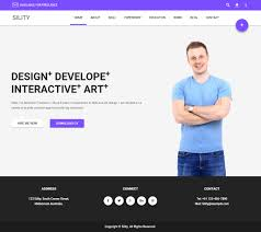 sility premium responsive cv resume html5 template optimised for desktop