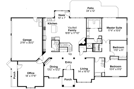 Contemporary House Plans   Ainsley     Associated DesignsContemporary House Plan   Ainsley     st Floor Plan