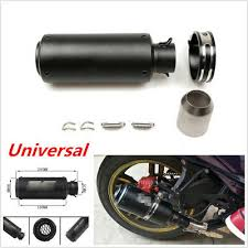 <b>36</b>-<b>51mm Modified Motorcycle Exhaust</b> Muffler Pipe Silencer ...