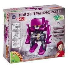 Набор <b>Французские опыты Науки</b> с Буки <b>Bondibon</b> ВВ3060 Робот ...