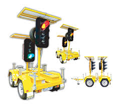 Image result for portable traffic lights