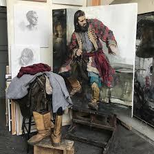 Иван Логинов - In process, oil on <b>canvas</b> 140/110 cm, 2019 ...