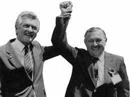 Image result for alan bond and bob hawke