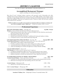 general manager description resume equations solver cover letter restaurant management resume exles bar resume job description for restaurant manager general