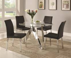 Kitchen Set Table And Chairs Dining Room Dining Table Glass Dining Table Chairs Glass Kitchen