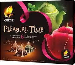 <b>Curtis Pleasure Time розовый</b>, чайное арома-ассорти в ...