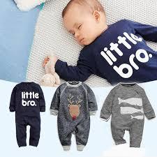 2019 New <b>Autumn Baby Boys</b> Cartoon Animal <b>Rompers</b> Kids Little ...