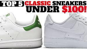 <b>Top</b> 5 <b>Classic</b> Sneakers UNDER $100 For Spring / <b>Summer</b> ...