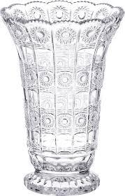 <b>Ваза Lefard</b> Muza Crystal, 195-126, прозрачный, 17 х 17 х 25 см ...