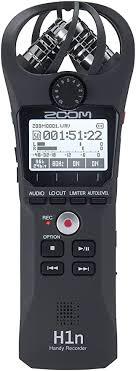 <b>Zoom H1n</b> Handy Recorder (<b>Black</b>): Amazon.in: Musical Instruments