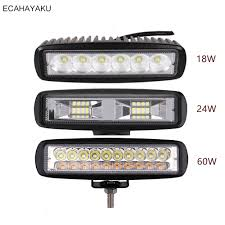 1Pcs <b>ECAHAYAKU</b> Car styling 6 <b>inch</b> LED Bar LED Work Light Bar ...