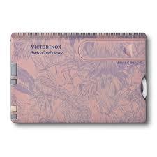 <b>Швейцарская карточка</b> Victorinox <b>SwissCard Classic</b>, розовая ...