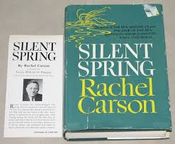 silent spring   wikipedia  the free encyclopediathe book of the month club edition of silent spring  including an endorsement by justice douglas  had a first print run of     copies  two and a half