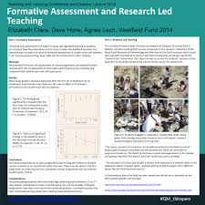 formative assessment and enhancing student achievement adept bright ideas poster clare