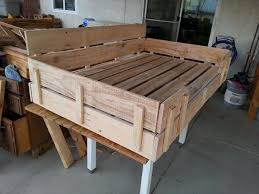 this one is quite a big recycled pallet dog bed and it would be perfect for a big dog at home for this you will require a couple of wood pallets big dog furniture