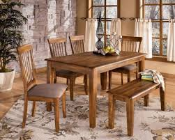 Dining Room Table With Benches Room Table Bench Chairs Agathosfoundationorg Oak Dining Table