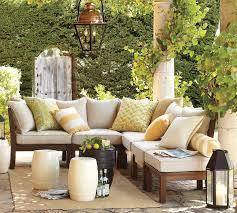 contemporary patio design inspiration black sofas