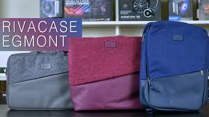 Обзор новых сумок для ноутбуков <b>RIVACASE</b> коллекции Egmont ...