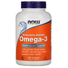 <b>Омега</b>-<b>3</b>, <b>180 ЭПК/120 ДГК</b>, 200 мягких таблеток - iHerb