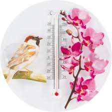 "<b>Термометр уличный Park</b> ""Цветы и птицы"", 000152 ..."