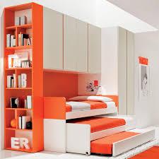 triple bunk bed saving space bedroom kids bed set cool bunk beds