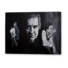 Hello I'm Johnny Cash Canvas Print | Stuff to buy in 2019 | Framed ...
