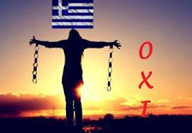 Resultado de imagen de grecia dice no