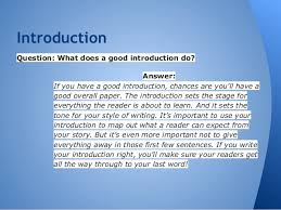 writing an essay introduction it project manager resume example    compare and contrast essay introduction example