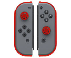 <b>Накладки Joy</b>-<b>Con Armor</b> Guards Red + Black Pack (<b>Nintendo Switch</b>)