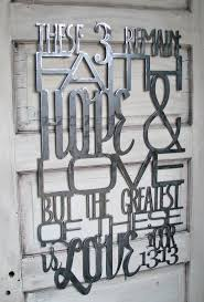 iron wall decor u love: painted metal scripture from  corinthians great valentines day gift for someone you love painted red to liven up any light colored wall in your home