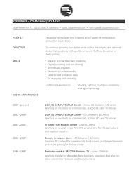 resume d artist resume inspiring 3d artist resume full size