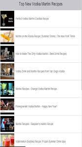 Martini Recipes Vodka Vodka Martini Recipes App Ranking And Store Data App Annie