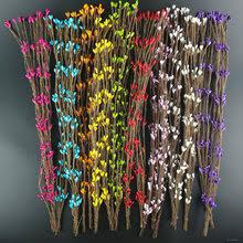 Online Shop 12pcs/lot <b>Mini Silk Artificial</b> Rose Bouquet Wedding ...