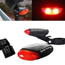 <b>Solar Powered Bike Light Cycling</b> Tail Red <b>Light Solar Power Bike</b> ...